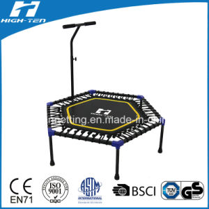 China Mini Trampoline With Handle Rubber Ropes China