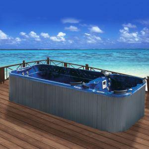 Premium Ocean Blue 380V Outdoor Swim SPA pictures & photos