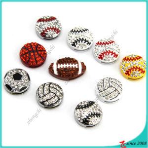 Enamel Sports Slide Charms Bracelet Charms