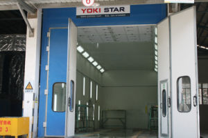 Paint Room Competetitive Price Industrial Powder Coating Booth Paint Booth pictures & photos