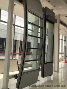 Good Quality 6063 T5 T6 Anodized Aluminium Curtain Wall pictures & photos
