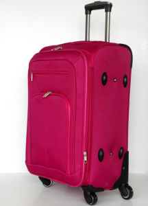 3piece Soft Trolley Luggage Case Trolley Bag pictures & photos