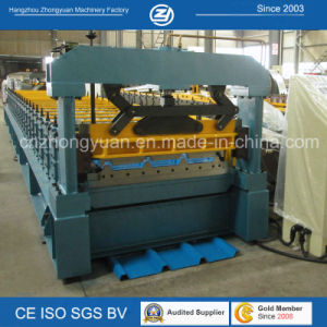Galvanized Roofing Sheet Roll Forming Machine pictures & photos