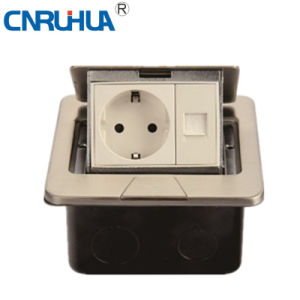Hot Sales High Qualtiy Easy Use German Telephone & One-Way Floor Socket pictures & photos