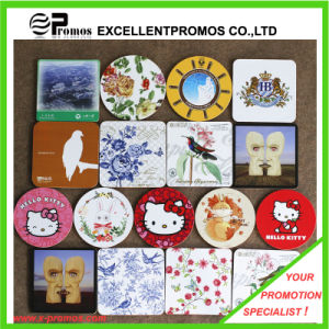 Best Selling Logo Printed Top Quality Cork Coaster (EP-C125511) pictures & photos