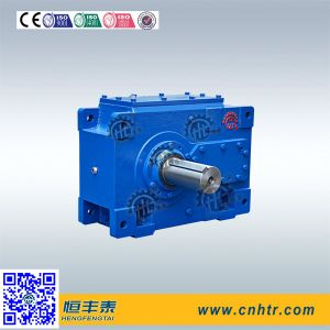 Hh Seroes Parallel Shaft Output Helical Gearbox for Slurry Pump pictures & photos