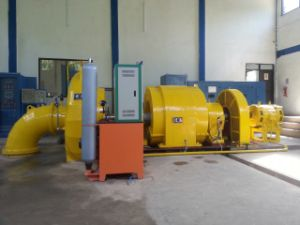 Medium Size Francis Hydro (Water) Turbine-Generator / Hydropower /Hydroturbine pictures & photos