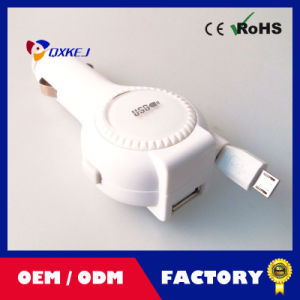 Classic Portable USB Car Charger for Mobile Phone-2016 New Year