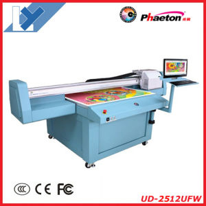 2.5m*1.2m UV Flat Bed Printer (UD-2512UFW CMYK+W) pictures & photos
