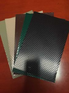 PE/PVDF Color Coated Embossed Aluminum Sheet/Coil for Roofing pictures & photos