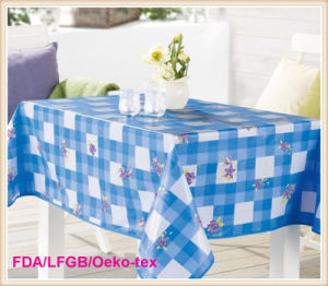 PVC Round Tablecloth Party Decor. pictures & photos