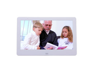 10inch HD Digital Photo Frame with Narrow Frame Support 1080P pictures & photos