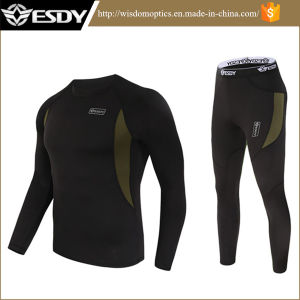 Outdoor Sports Underwear Tactical Thermal Fleece Warm Clothing pictures & photos