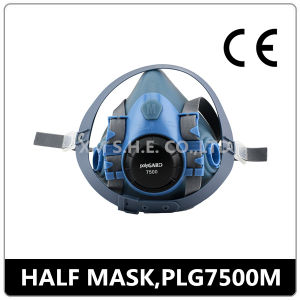 Hot Sell CE Chemical Protective Double Filter Respirator Half Gas Mask pictures & photos