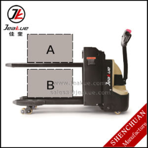 German Quality 2t Double Lift Electric Pallet Truck pictures & photos