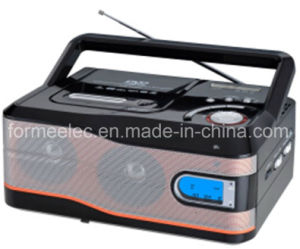 DVD CD MP3 Boombox with Cassette Recorder Player DVD9216uc pictures & photos