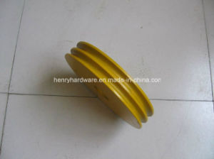 Elevator Rope Sheave, Elevator Sheave, Wire Rope Sheave pictures & photos