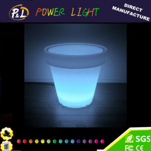 Fashion Design Decorative Big LED Lighting Flower Pot pictures & photos