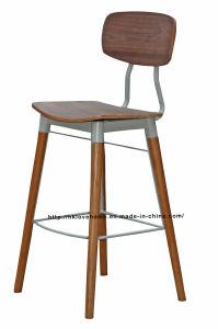 Dining Restaurant Furniture Walnut Copine Sean Dix Bar Chairs pictures & photos