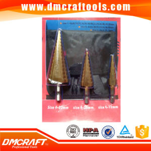 3PCS/Set HSS Step Drill Bit Set pictures & photos