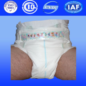 Disposable Thick Adult Diapers Thick Adult Nappies for Adult Incontinence Pad From China (AD311) pictures & photos