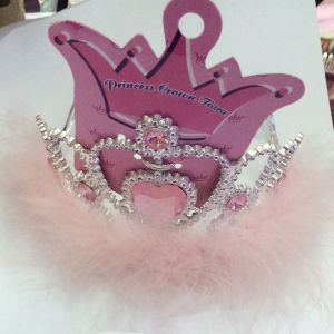 Hot Sale Kids Plastic Crowns and Tiaras