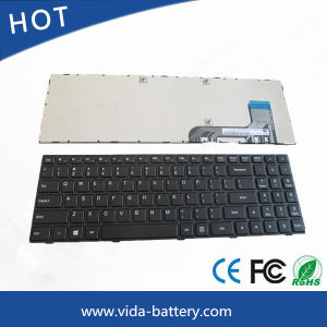 New Laptop Keyboard for Lenovo Ideapad 100 100-15ibd Us Layout with Frame Black pictures & photos
