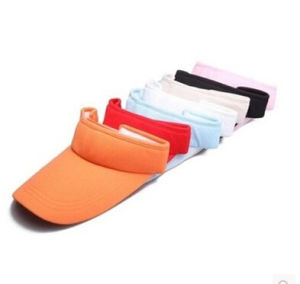Promotional Colorful Polytester Sun Visor Hat pictures & photos