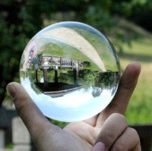 Top Grade Clear Glass Ball, Crystal Ball with Various Size pictures & photos