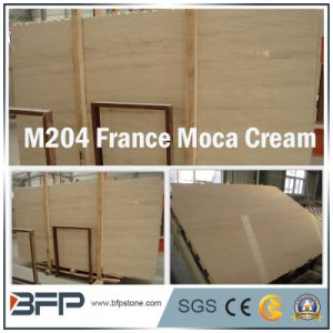 Imported Marble Polished/Honed Cream Marble Tile Marble Slabs pictures & photos