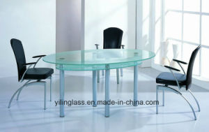 Frosted Tempered Glass for Kitchen Table Top pictures & photos