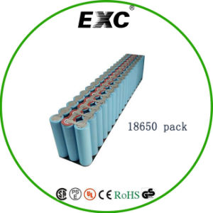 Lithium Ion Battery Series and Parallel 18650 Bag Rechargeable Battery Pack pictures & photos