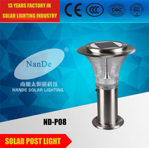 IP65 Wholesale Solar Post Light with Light Source pictures & photos