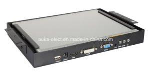 "10.4"" 4-Wire Resistive Touch Industrial Monitor with HDMI, VGA Input pictures & photos"