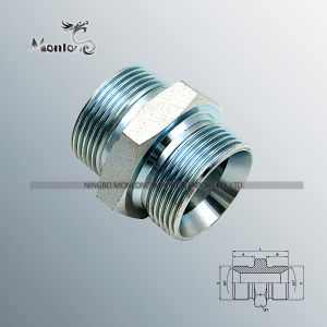 Bsp/Jic/NPT/Metric Thread Hydraulic Hose Fitting (1B) pictures & photos
