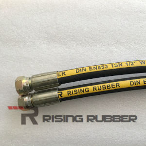 """Hydraulic Hose 3/8"""", 2610 Psi, 100r1at pictures & photos"""
