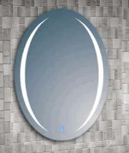 High-End Metal Touch Screen Mirror with Light for Bathroom (LZ-051) pictures & photos