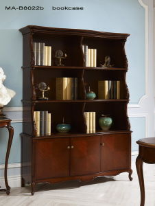 High Quality Classical Wooden Furniture Bookcase