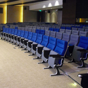 Conference Hall Seating, Auditorium Seat, Conference Hall Chairs, Push Back, Plastic Auditorium Seat Auditorium Seating, Auditorium Chair (R-6172) pictures & photos