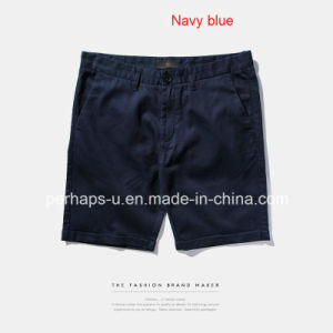 New Style Mens Chinos Shorts with Cuffed Hem pictures & photos