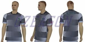 High Quality Stylish Mens 100% Polyester Sublimation Soccer Jersey Sportswear pictures & photos