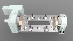 Cylinder Head Cover Hydraulic Workholding Fixture pictures & photos