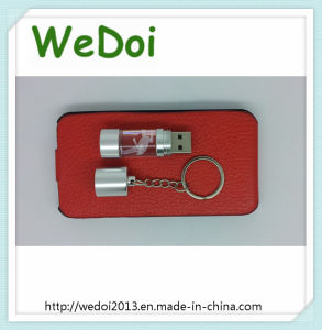 Lovely Costomized Crystal Bottle USB Flash Drive (WY-D39) pictures & photos