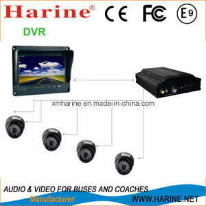 4CH GPS, WiFi Vehicle Mobile Harddisk DVR pictures & photos