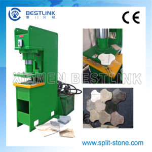 Hydraulic Stone Stamping Machine for Recycling Waste Stone Tiles pictures & photos