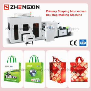 Non Woven Box Bag Making Machine with New Design Zx-Lt400 pictures & photos