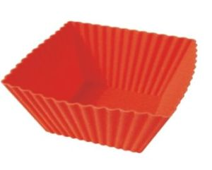 Silicone Rectangle Cake Cup & Cake Mould &Bakeware FDA/LFGB (SY6608) pictures & photos