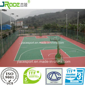 High Rebound Rate Basketball Court Sports Flooring From China pictures & photos