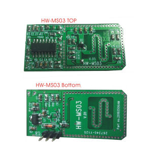 Newly 3.3 V Microwave Motion Sensor Board for Ceiling Light pictures & photos