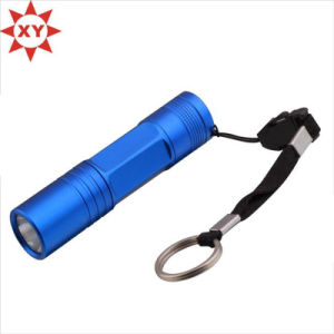 Promotional Small Keyring Light, Mini Keychain Light, LED UV Light pictures & photos